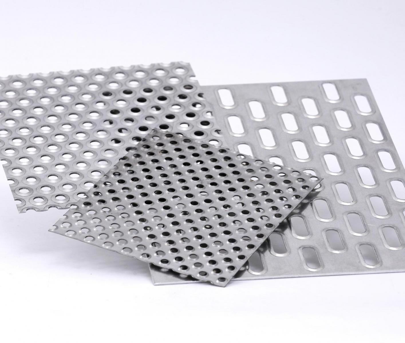 Perforated metal sheets 3
